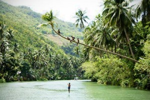 Cruising on Loboc River